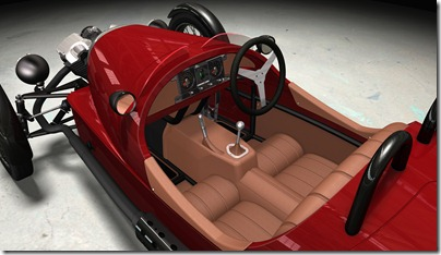 3 Wheeler interior