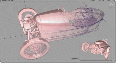 3 Wheeler in development