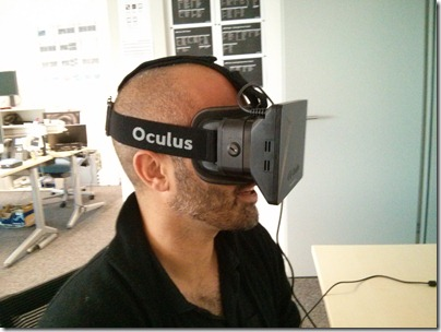 First fun with the Oculus Rift
