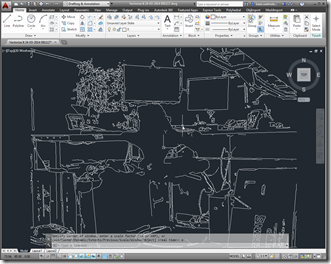 In desktop AutoCAD