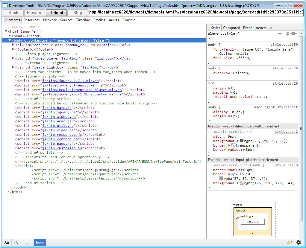 AutoCAD 2015s updated JavaScript API - Through the Interface