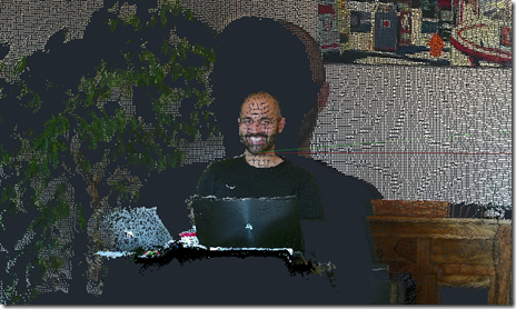 Kinect point cloud in AutoCAD 2015
