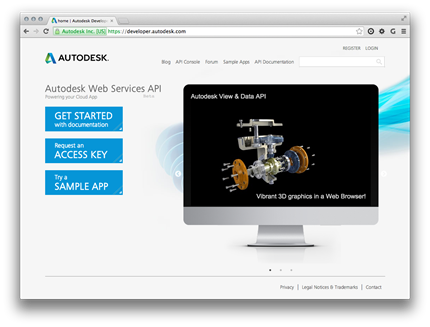 Building a web-based viewer using the Autodesk View Data API