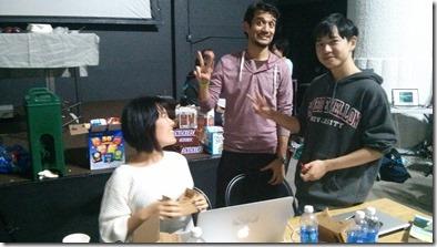 A team working with Google Cardboard