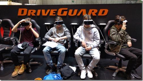 Virtual driving at the Motor Show