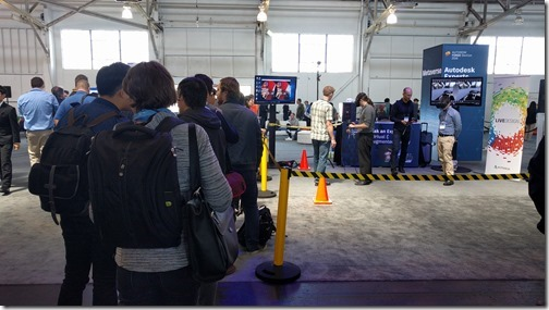 Our Exhibit Hall VR stand stayed busy