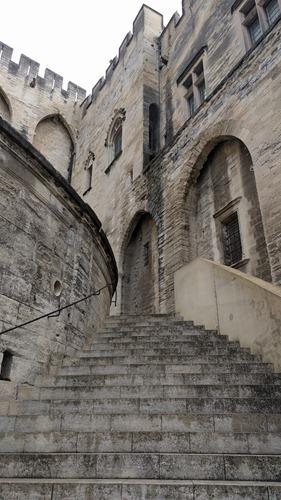 Avignon steps