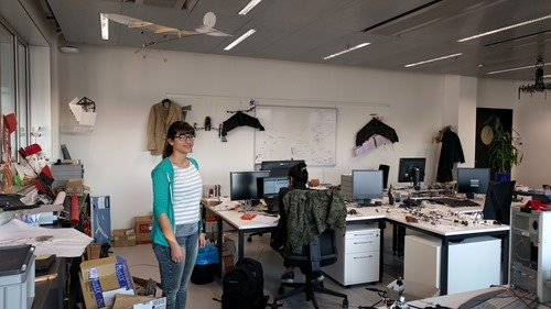 Alice C and the drone lab