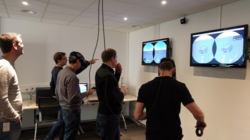 More Autodeskers trying out VR