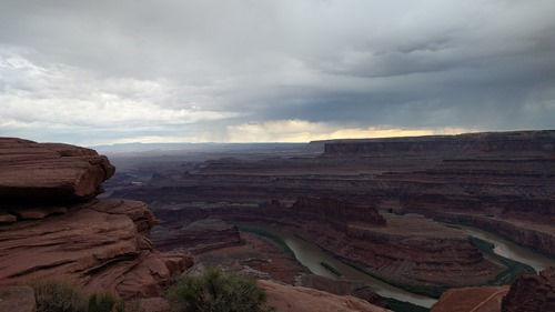 Weather from Dead Horse Point