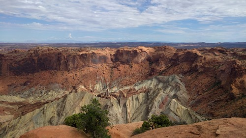 Upheaval Dome at Canyonlands