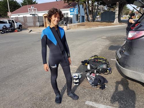 Our diver