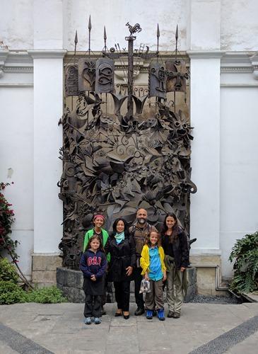 At InfoPeru in Lima