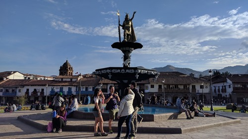 Plaza de Armas in Cusco