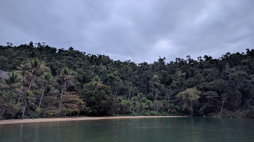 An inaccessible beach near Paraty