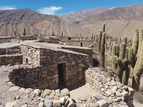 The 12th century settlement, Pucara de Tilcara