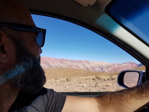 Approaching El Hornocal