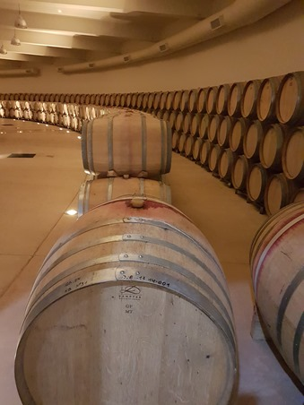 The cellar at Piatelli's