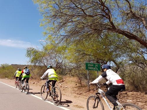 More biking pilgrims