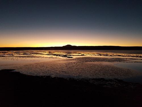 Sunset over the Lagoon Tebinquinche