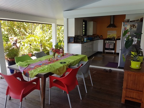 Our Airbnb on Moorea