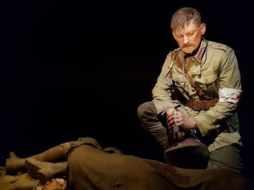 Lieutenant Colonel Percival Fenwick - front
