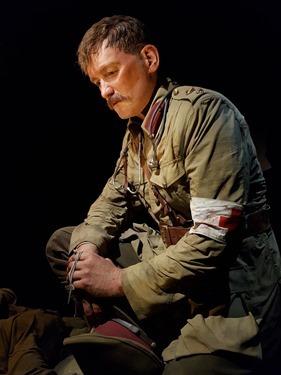Lieutenant Colonel Percival Fenwick - right