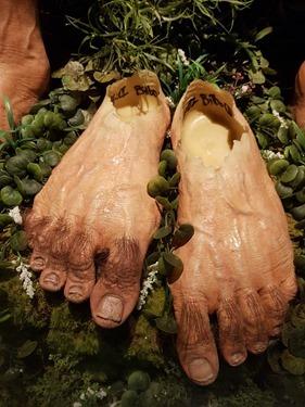 Bilbo's feet