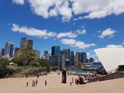 A view across Sydney