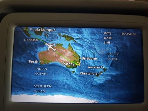 Sydney to KL