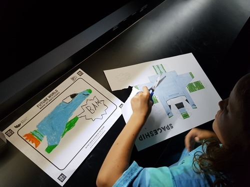 Drawing a plane and building the 3D model of it