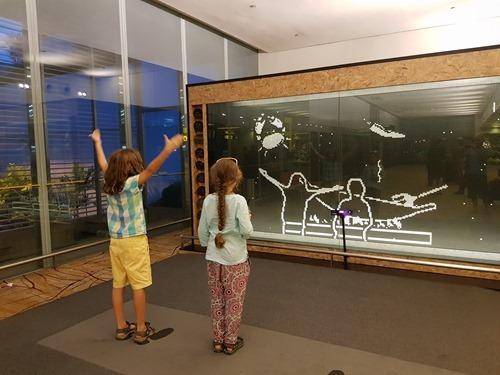 Kinect-based fun at Changi airport