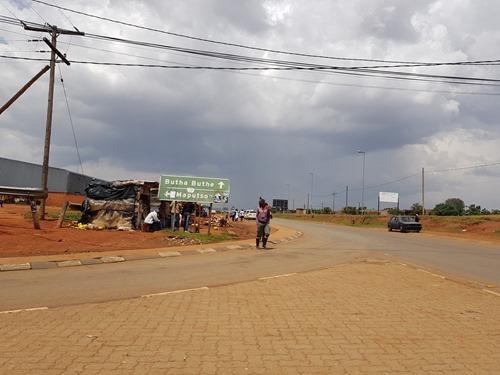 Entering into Lesotho