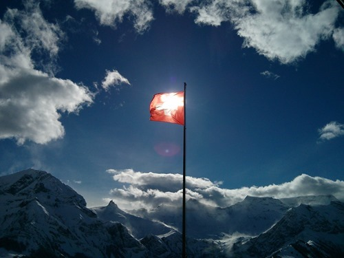 A pretty flag