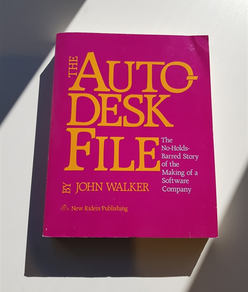 The Autodesk File in physical form