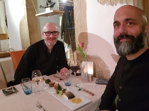 A splendid dinner