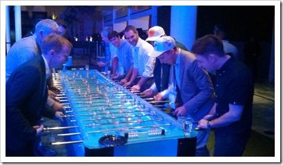 Table football, Vegas-style