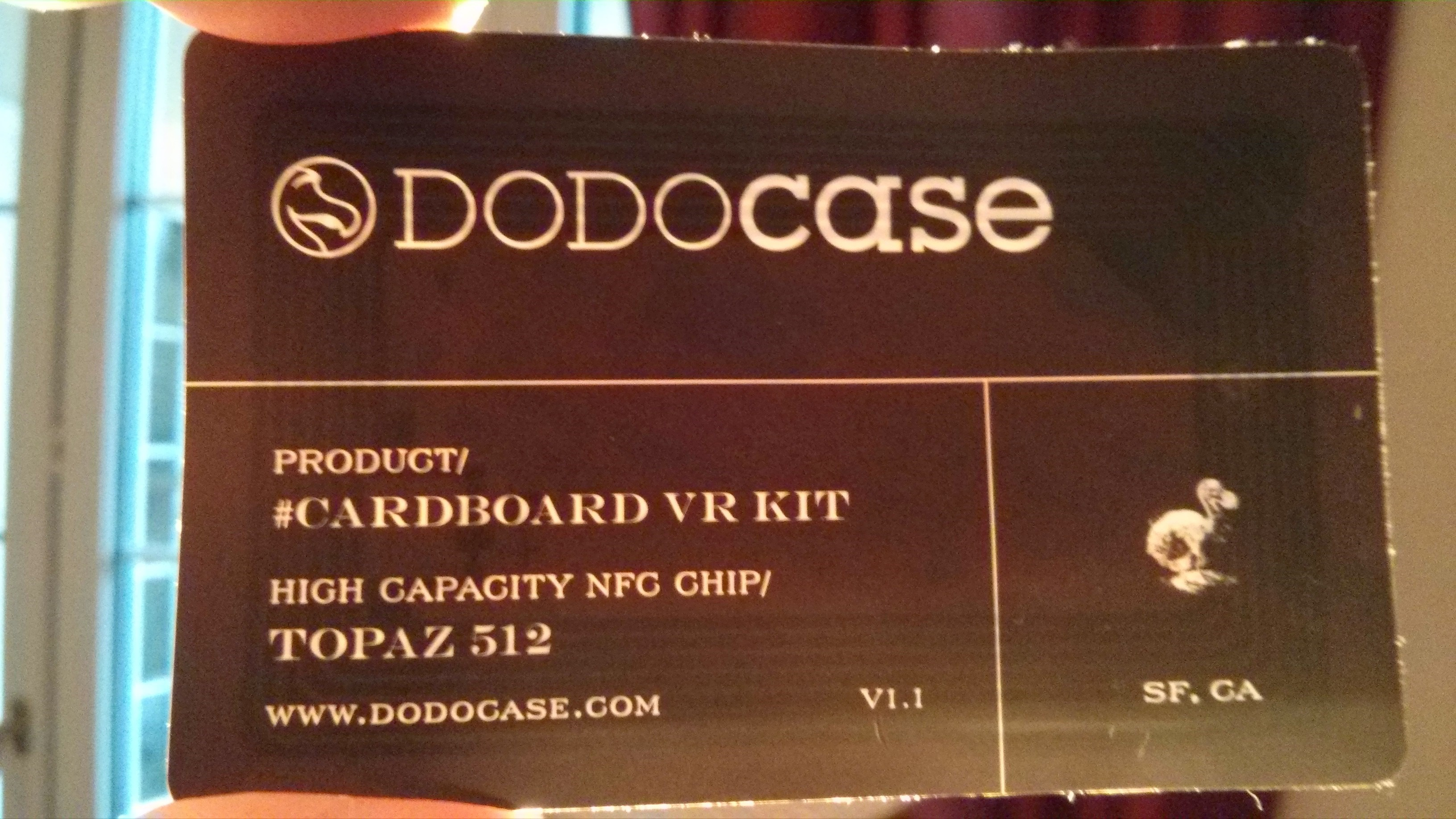 Using NFC to launch your Google Cardboard app - Through the