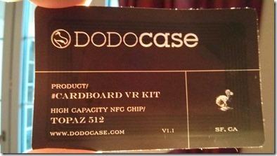The DODOcase NFC sticker