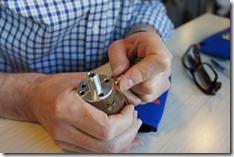 Assembling the hand