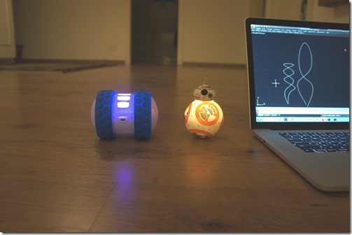 Ollie, BB-8 and AutoCAD