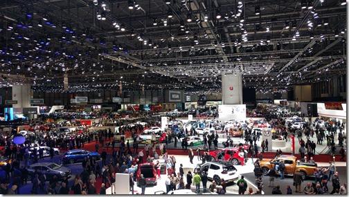 The Geneva Motor Show
