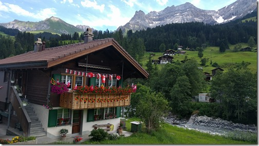 August 1st in Adelboden