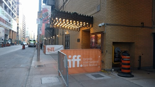 Stagedoor at the TIFF