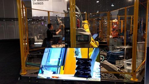 Robot printing