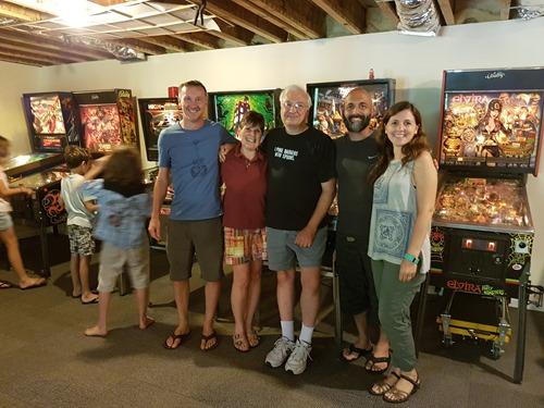 Duncan, Cathy, Bob, Kean and Eugenia
