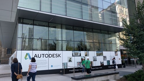 Autodesk Toronto's new space