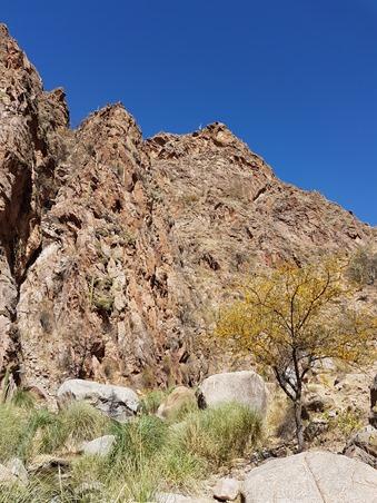 Fantastic, steep canyon sides