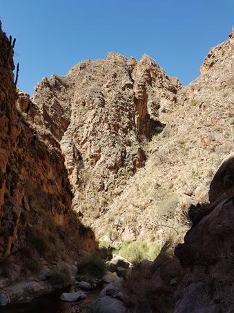 The Rio Colorado river