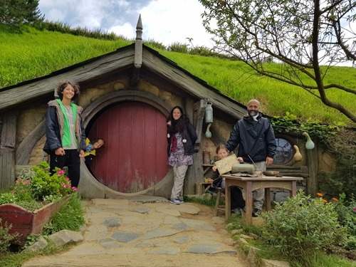 A hobbit family